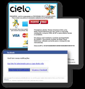 Exemplos de Phishing