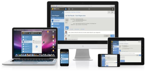 Accellion kiteworks - Compartilhamento seguro de arquivos e produtividade móvel em qualquer plataforma