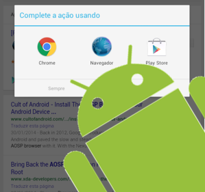 Android AOSP Browser