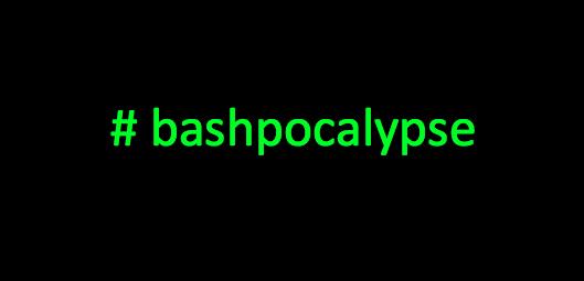 Bashpocalypse Shellshock
