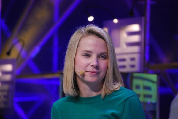 Marissa Mayer, CEO da Yahoo, em entrevista em 2011
